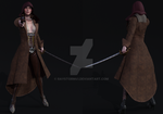 Female Assassin Concept by raystorm41