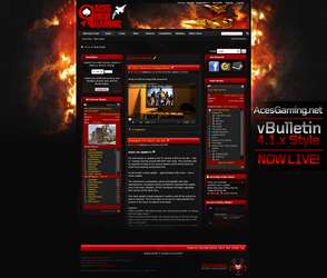 AcesGaming.net - vBulletin 4.1.x Style by xentrox