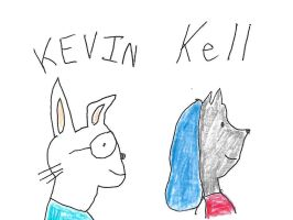 Kevin and Kell by dth1971