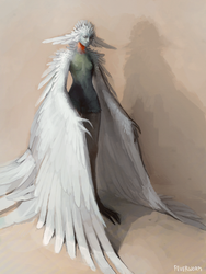 mama bird by Chaotic-Muffin