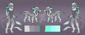 Anthro/Feral Vernid Auction (Closed) by SolalaAdopts