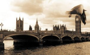 London sky by Yousry-Aref