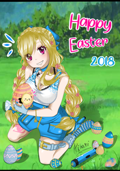 | Fairy Tail Edit | Easter 2018 by Furrashu-no-Hikari