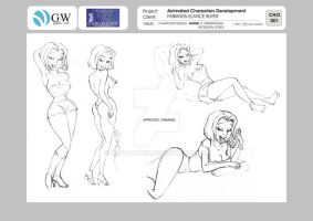 Character design- 09 by CARUTOONS