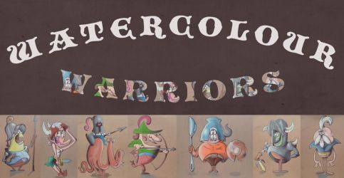 Watercolour Warriors by Cosmic-Onion-Ring