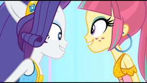 Rarity and sour sweet -- ...and it's electric! by Gouhlsrule