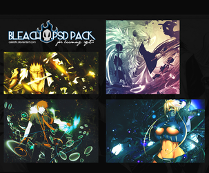 Bleach .psd's by calebfx