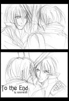 Dante x Vergil + To the End by xanseviera