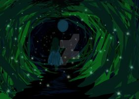 Alone in the woods by CharlotteHewins
