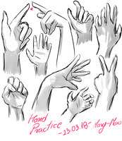 Hand practice by Mary-Maru