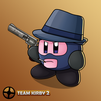 Team Fortress 2 - Kirby Spy by JackJasra