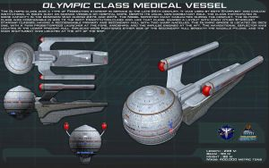 Olympic class medical vessel ortho [New] by unusualsuspex