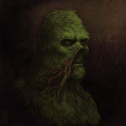 [Concept] Swamp Thing by GiovaBellofatto