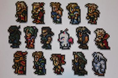 Final Fantasy 6 Crew by animestyle13