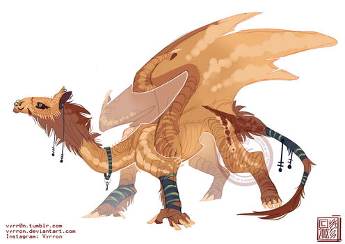 Camel dragon OTA (adopt #24) (CLOSED) by Vyrron