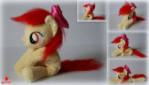 My Little Pony - Apple Bloom - Handmade Plush by Lavim