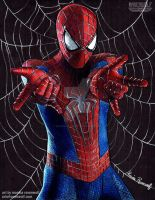 AMAZING - Spiderman by The-Art-of-Ravenwolf