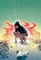 Hexed TPB Cover by crispeter