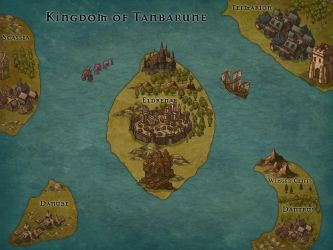 Fantasy Kingdom - Land of Tanbarune by RobynGemma