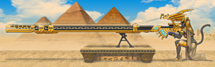 Defender of Egypt by luigiix