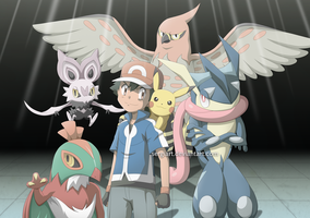 Pokemon XY and Z - Ikuze!!