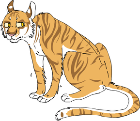 golden tiger by mechanicalmasochist