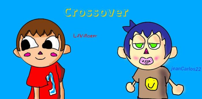 Crossover with jeanCarlos22 by LilVillager