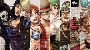 STRAWHAT pirates_wallpaper by FranciscoETCHART