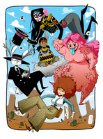 Main Cast: West by ToxicToothpick