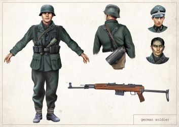 Reliquary - German Soldier by anderpeich