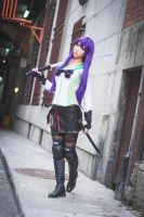 Saeko Busujima Cosplay (Highschool of the Dead) by QTxPie