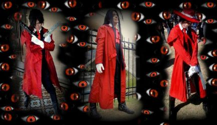 Alucard cosplay my three versions by VladTurunen