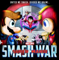 Smash Bros as the Avengers 2 by xeternalflamebryx