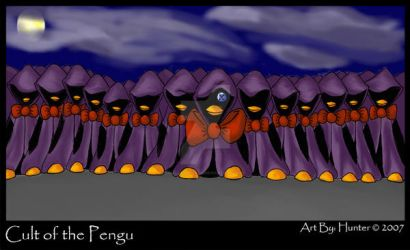 Cult of the Pengu by TuxedoPengu