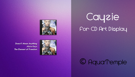 Cayzie for CD Art Display by AquaTemple