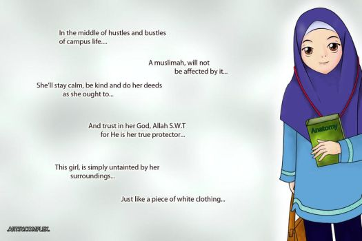 What A True Muslimah Should Be by GlowingRadiance