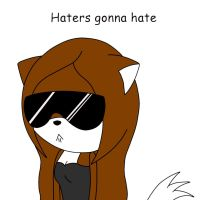 haters gonna hate by animecat33