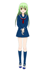 The Green Haired Girl by Rapier838