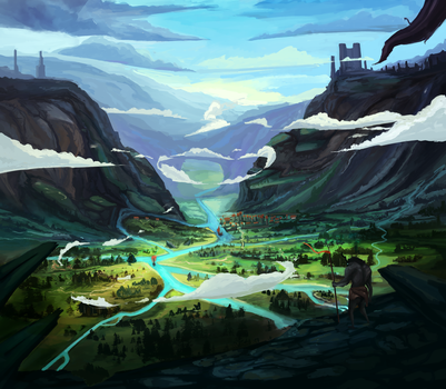 Another environment by T1Mmi