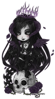 Rex Tenebrarum chibi by zero0810