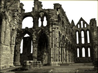 The Ruins Of Whitby Abbey 2 by Estruda