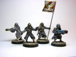 Krieg command squad by ByTheDock