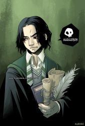 Young Snape by auroreblackcat