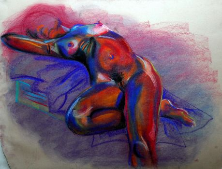 Female Nude by Valouise