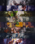 PSD FILES: seven avengers banners by 1jabberjay