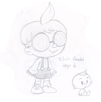 Young ladd, I mean, Gadd! by Nintendrawer