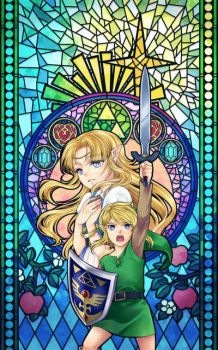 The Legend of Zelda: A link to the past by PrinceOfRedroses