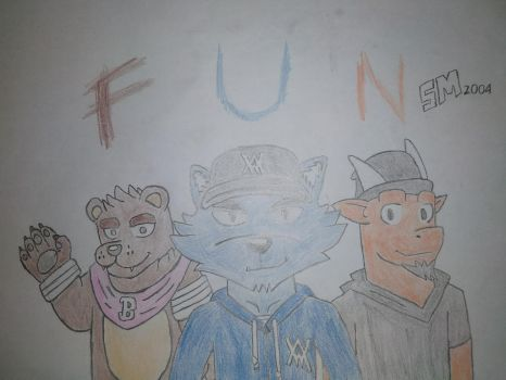 Fun With: Bill The Bear And HikazeDragon by SpacifyManters2004