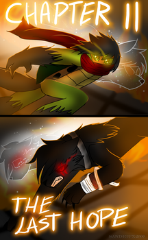 TMNT UNLEASHED-Wolf Spirit Chapter 11 by sandriux2000