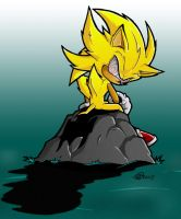 The Incredible Sulk --fleetway by Swirlything